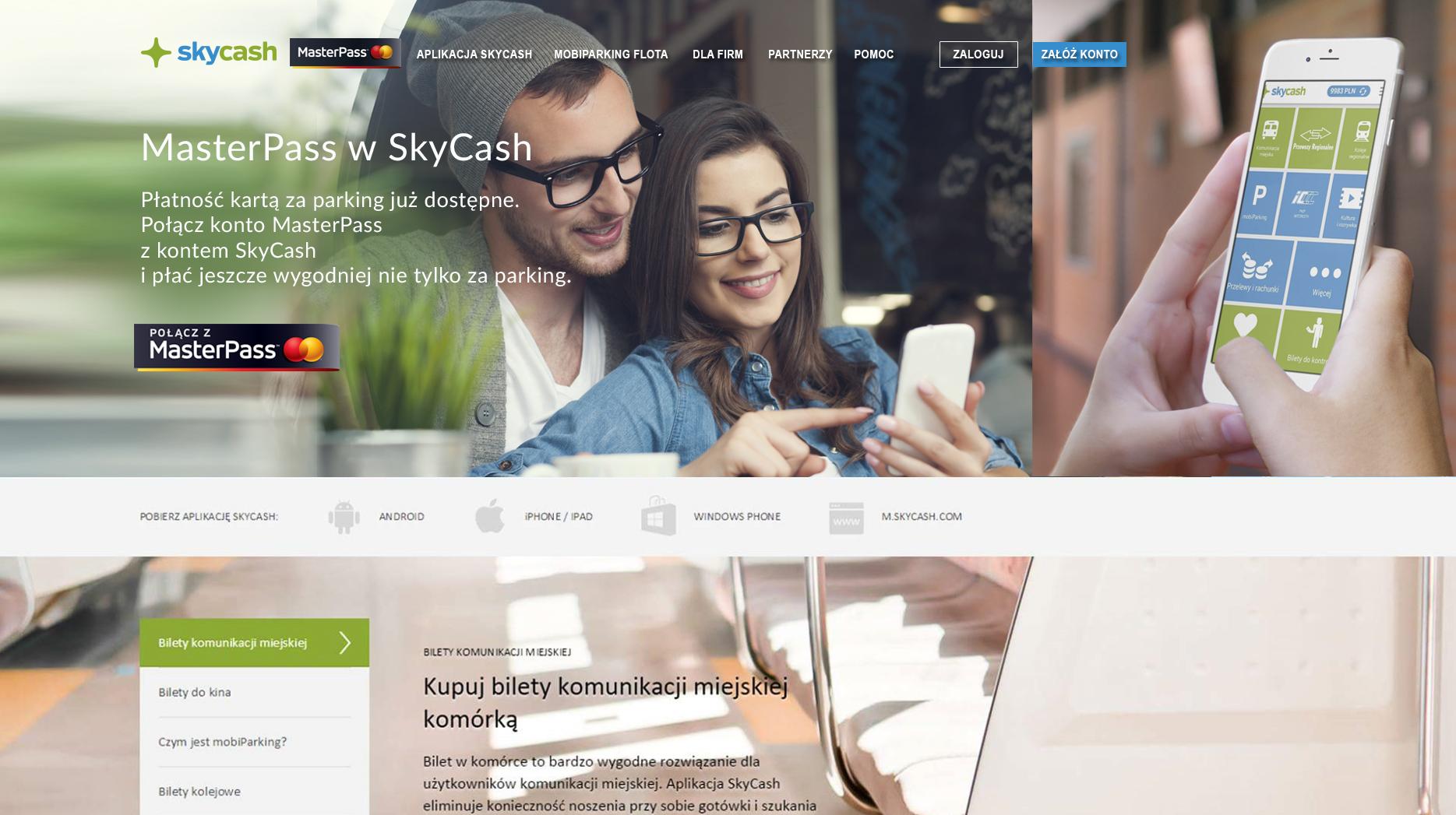 SkyCash, mobiParking