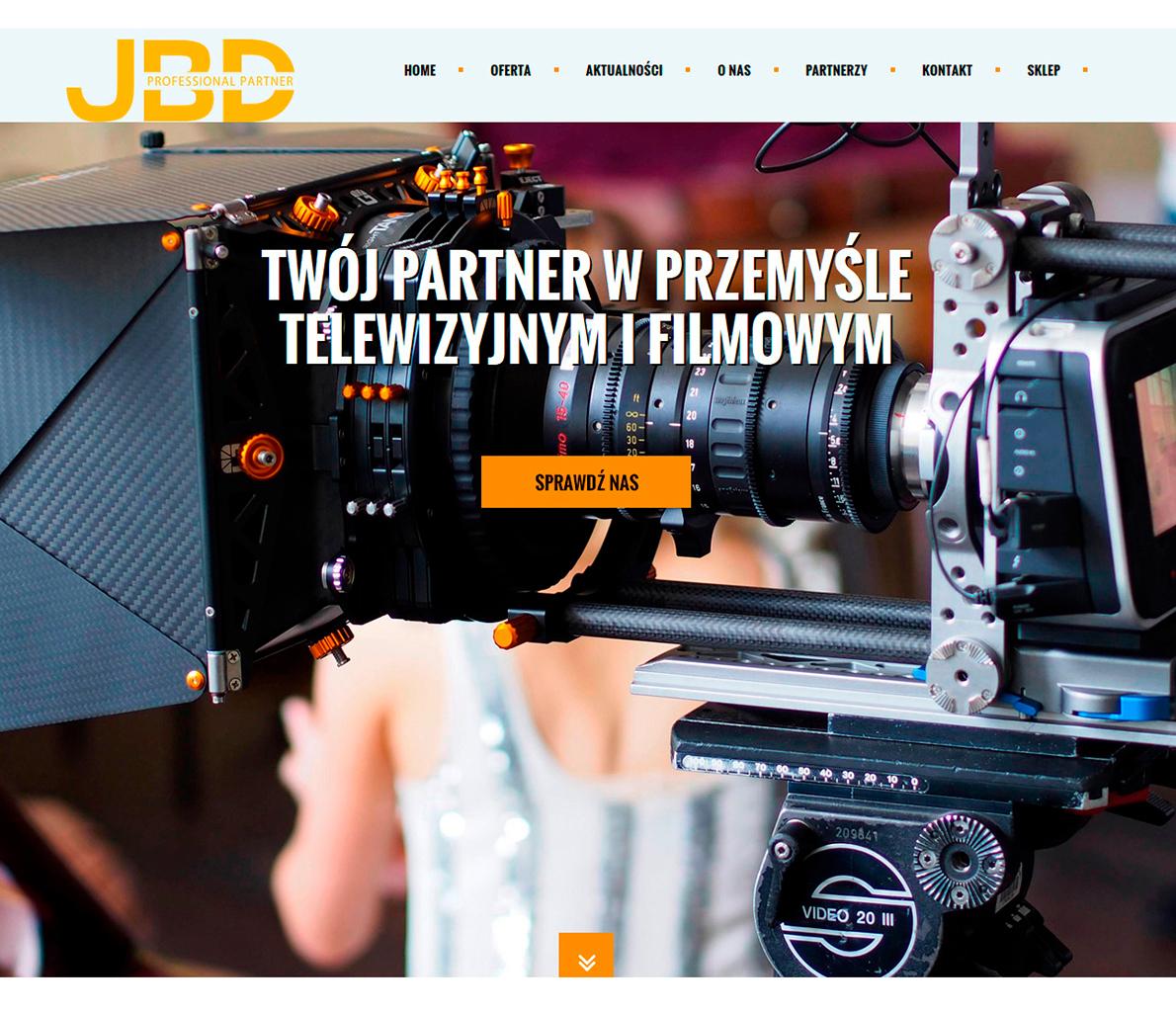 JBD - strona internetowa