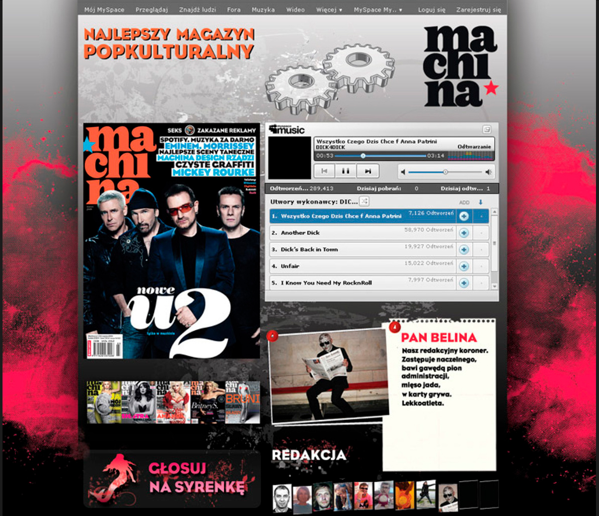 Machina - strona internetowa