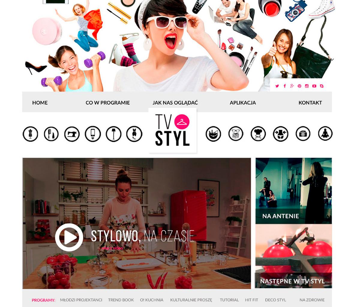 TV STYL - strona internetowa